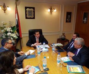 وزير قطاع الأعمال يبحث تطوير صناعة الحديد والصلب في زيارته لاوكرانيا