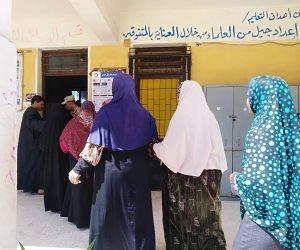 السيدات كلمة السر في انتخابات الرئاسة بالبحيرة (صور)