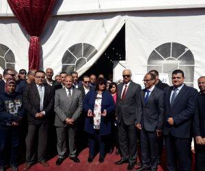 وزيرة الثقافة: لم يتم منع أي كُتب من المشاركة في معرض الإسكندرية للكتاب (صور)