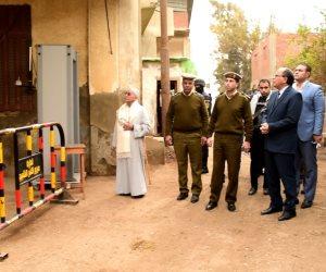 تشديدات أمنية حول كنائس كفر الشيخ استعدادا للإحتفال بأحد السعف