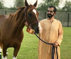 """كلمات محمد بن راشد.. حسين الجسمي يغني """"عالم الخيل"""" تزامنا مع كأس دبي للخيول"""