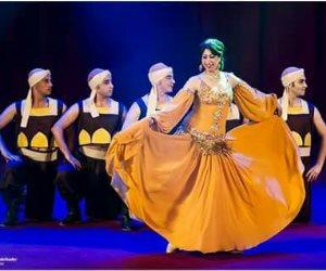 فرقة رضا تقدم رقصات وأوبريتات بمهرجان دمنهور الدولي السادس للفولكور