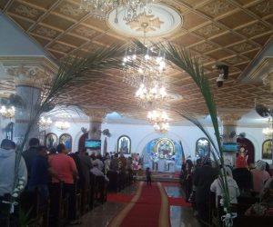 كنائس كفر الشيخ تؤدي صلاة قداس أحد الشعانين (صور )