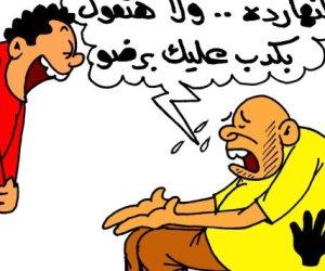 إخواني عن انتخابات الرئاسة: ياعم بلاها كدب النهاردة (كاريكاتير)
