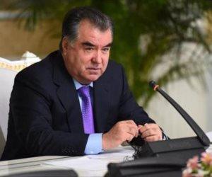 رئيس  طاجيكستان يبعث برقية تهنئة للرئيس السيسي