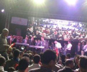 الفنان مصطفي كامل يشعل احتفالات المعادي ابتهاجا بفوز الرئيس (فيديو)