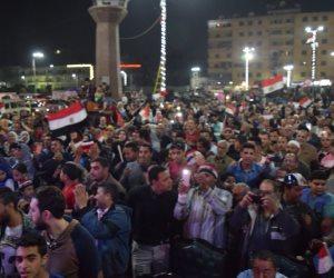 الآلاف يواصلون احتفالاتهم بفوز السيسي لفترة رئاسية ثانية في المنصورة (صور)