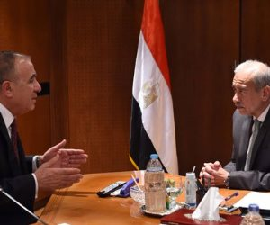 رئيس الوزراء لـ «الجندى»: التنسيق الكامل بين السلطتين التنفيذية والتشريعية لصالح الوطن (صور)