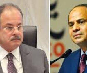وزير الداخلية يبعث برقية تهنئة للرئيس السيسى بمناسبة فوزه في الإنتخابات الرئاسية