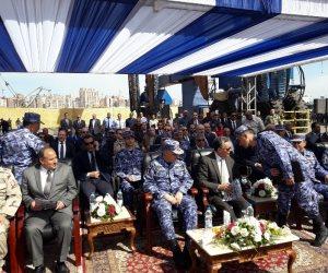 تدشين قاطرتي «تحيا مصر» بميناء الإسكندرية بحضور وزير النقل (صور)