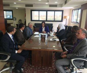 """""""محرز"""" تشدد على وضع خطة علمية للبدء في التحسين الوراثي للقراميط المصرية"""