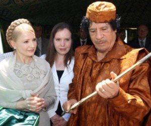 أوكرانيا تحقق فى اتهامات بتمويل القذافى لحملة تيموشينكو