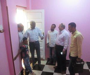 تسليم أول 30 منزلا ضمن مبادرة الرئيس لإعمار القري فى الأقصر (صور)