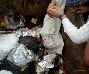 تحريات مكثفة لكشف غموض العثور علي جثة فتاة وسط القمامة بالجيزة