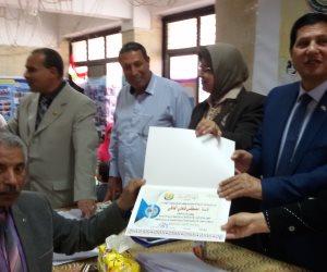 تكريم 90 من قيادات التربية والتعليم بكفر الشيخ والطلاب المثاليين (صور)