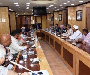 تدشين مجلس أمناء لمصرف السيل بأسوان لتحقيق الرقابة الشعبية