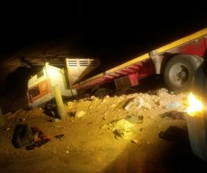 النيابة تقرر تسليم جثامين ضحايا حادث سوهاج الـ21 لذويهم (صور)