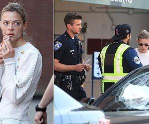 مجهول يهاجم الممثلة الأمريكية «جايمي كينج».. ويسبب الهلع لابنها (صور وفيديو)