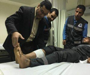 إصابة «مسعف» بطلق ناري مجهول بالشيخ زويد في شمال سيناء (صور)