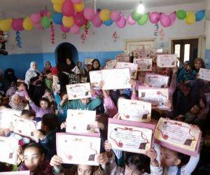 مساعدة لـ 100 أسرة أحتفالا بعيد اليتيم بالمنوفية (صور)