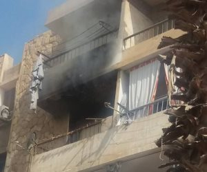 """""""الحماية المدنية"""" تسيطر على حريق نتيجة انفجار إسطوانة غاز قرب إحدى الكنائس بقنا"""