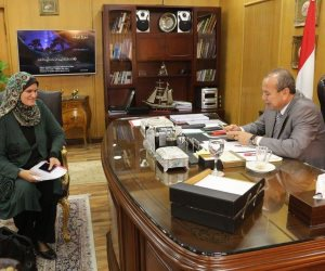 محافظ دمياط يتابع الموقف التنفيذي لمشروعات إنشاء المدارس بنطاق المحافظة