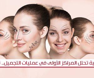 10 دولة عربية تحتل المراكز الأولى في عمليات التجميل (إنفوجراف)