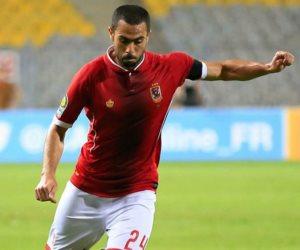 الأهلي يستبعد أحمد فتحي من مواجهة كمبالا للإصابة