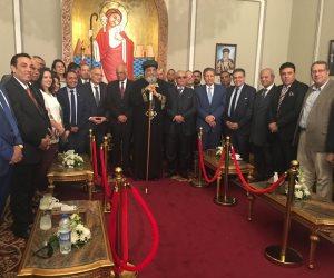 المصريين الأحرار يهنئ البابا تواضروس بعيد القيامة