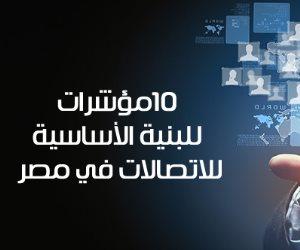 أهمها 5.20 مليون وصلة انترنت.. 10مؤشرات لقطاع البنية الأساسية للاتصالات في مصر