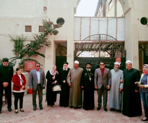 بيت العائلة المصرية بكفر الشيخ يهنئ الأقباط بعيد القيامة