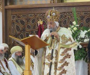 البابا تواضروس يستقبل فتيات دار «بنات مريم» بوادي النطرون