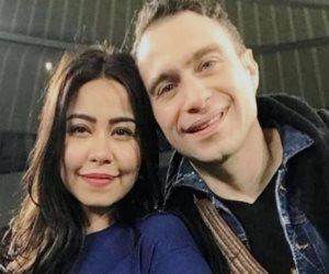 حسام حبيب يواسى زوجته شيرين عبد الوهاب في وفاة والدها