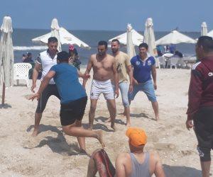 تخصيص 45 مُنقذا لتأمين المصطافين على شاطئ بورسعيد.. ومظاهر احتفالية بكل مكان    (صور)