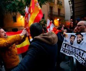 كتالونيا تستقبل الملك فيليب السادس بالتظاهرات