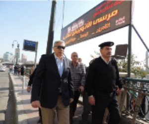 مدير «شرطة النقل والمواصلات» يتفقد المراسي النيلية ومحطات السكة الحديد