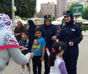 شم النسيم بدون تحرش بمشاركة الشرطة النسائية في البحيرة (صور)