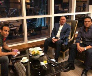 حسام البدري يكشف كواليس زيارته للخطيب في الإمارات