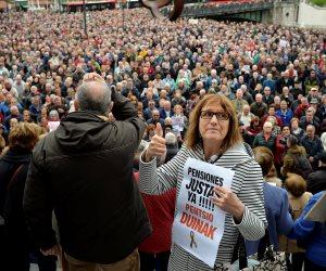 آلاف المتقاعدين في إسبانيا يحتجون للمطالبة بمعاشات عادلة (صور)