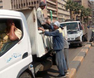 محافظة الجيزة: مليون جنيه تكلفة مخلفات يوم شم النسيم
