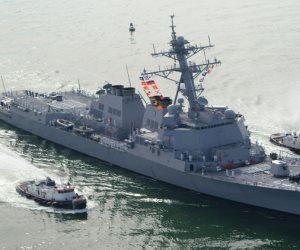 مقاتلات روسية تحلق فوق مدمرة أمريكية اقتربت من ميناء طرطوس السوري