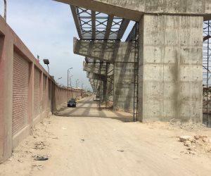 إنجاز 50 ٪ من محور ربط ميناء الإسكندرية بالطريق الدولي الساحلي (صور)