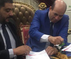 التوقيع على تشغيل 96 ميني باص بالغربية وبدء تشغيل 50 أخرين بكفر الشيخ