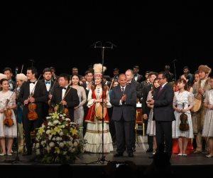 محافط الإسكندرية يشارك في احتفالية الأسبوع الثقافي لدولة كازاخستان (صور)