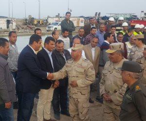 كامل الوزير يتفقد مشروع مدينة الأثاث بدمياط للوقوف على الاستعدادات النهائية (صور)