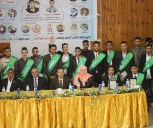 مصطفى خميس رئيسا لاتحاد طلاب الزراعة وحسين عبد العال نائبا له