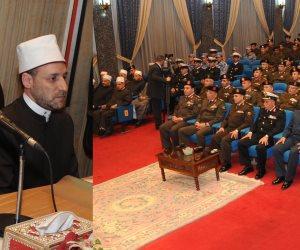 القوات المسلحة تحتفل بذكرى الإسراء والمعراج بحضور عدد من القادة والضباط