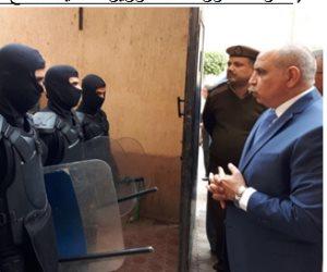 مدير قطاع السجون يتفقد عنابر نزلاء سجن الزقازيق العمومي (صور)