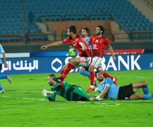 الأهلى يفض اشتباك الداخلية بهدف عمرو السولية بعد 75 دقيقة