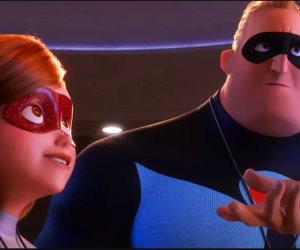 شاهد.. تريللر فيلم Incredibles 2 يحمل الإثارة والمغامرة (صور وفيديو)